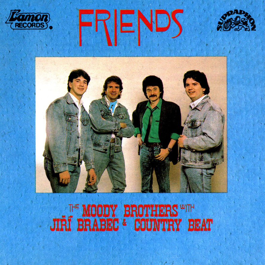 The Moody Brothers with Jiří Brabec & Country beat friends Album
